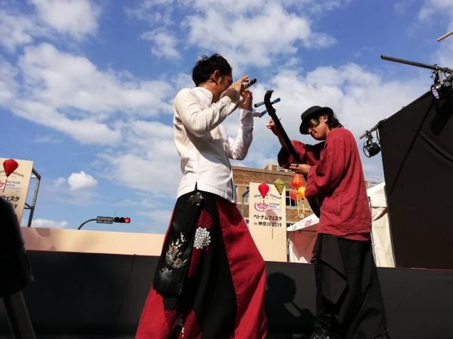 ベトナムフェスタin神奈川2019でのステージ公演