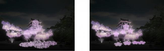 左右イメージ(桜)