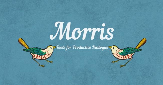 カードゲーム型の対話支援ツール、Morris(モリス)