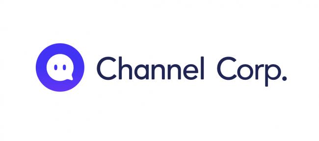 株式会社 Channel Corporation の新しいロゴ
