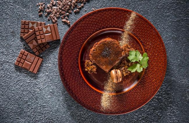 ブリオッシュのブリュレ × 明治 ザ・チョコレート ベルベットミルク