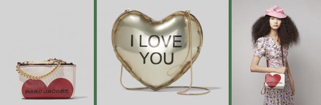 「マーク ジェイコブス」より、バレンタイン限定の THE MARC JACOBS 特設ポップアップストアが阪急うめだ本店に登場!