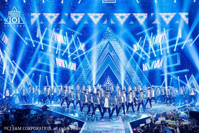 PRODUCE 101 シーズン2©CJ E&M CORPORATION, all rights reserved