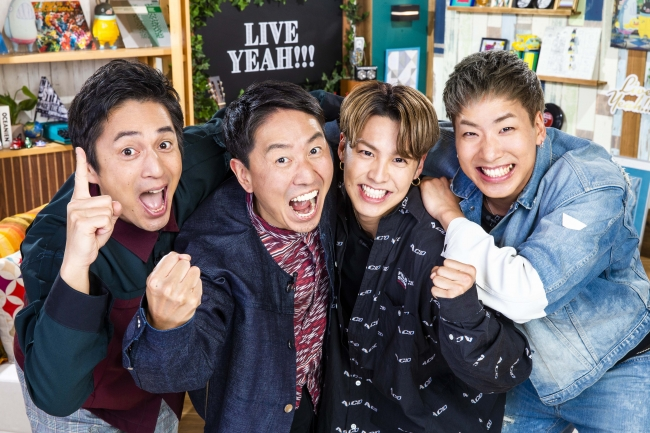 「LIVE YEAH!!!」/スペースシャワーTV