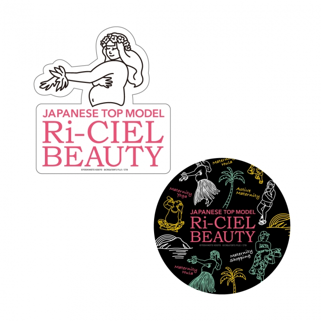 Ri-CIEL BEAUTY STICKER/ ILLUST STICKER