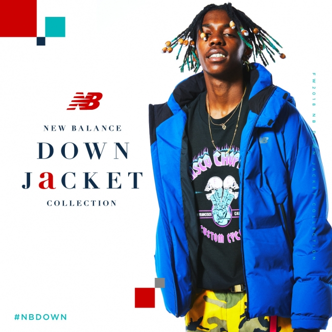 New Balance Down Jacket Collectionが10月26日に発売 期間限定popup