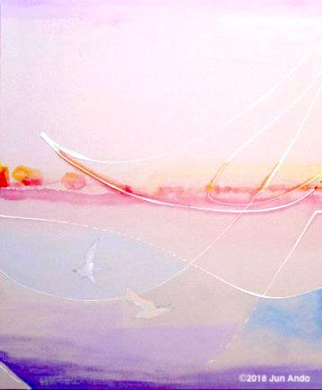 国内外のセレブリティが絶賛する画家「安藤純」の作品展が、名古屋へ初 ...