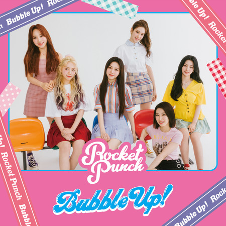 Rocket Punch 1st Mini Album 'Bubble Up!' Type B