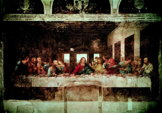 最後の晩餐(C)De Agostini Picture Library