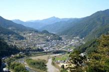 神山町の風景