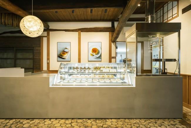 金沢チーズケーキ専門店 こめトはな 店舗内観