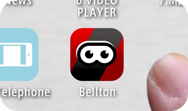 アプリをタップして起動