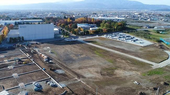BIS山形工場 エネルギーセンター建設予定地