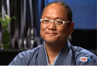 「料理の鉄人」 森本正治氏CNN「トーク・アジア」に登場! 料理の鉄人として名声を掴むまでの背景、 世界進出に伴う課題や自身のポリシーを語る