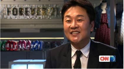 CNN「トーク・アジア」にFOREVER21創立者ドン・チャン氏が登場