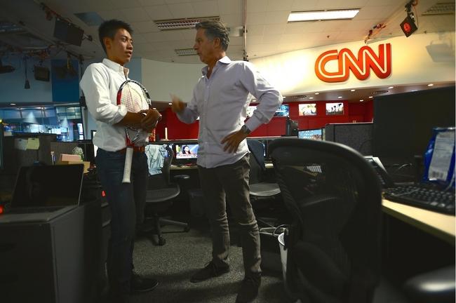 錦織圭選手 CNN単独インタビュー