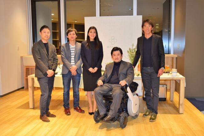 食のおくすりメンバー(左から米倉、武部、佐野、松田、湯本)