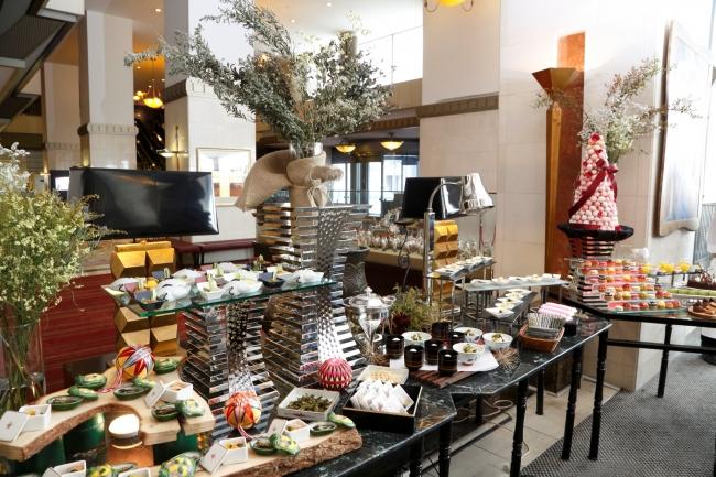 お正月料理やデザートを、ゆったりとした空間でお楽しみいただけます
