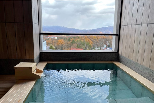 眺望貸切露天風呂「森の湯」