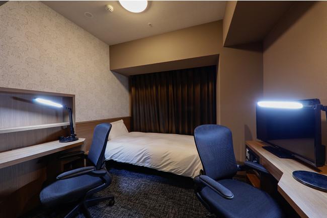 泊まれるオフィス『OFFiSTYLE ROOMS』