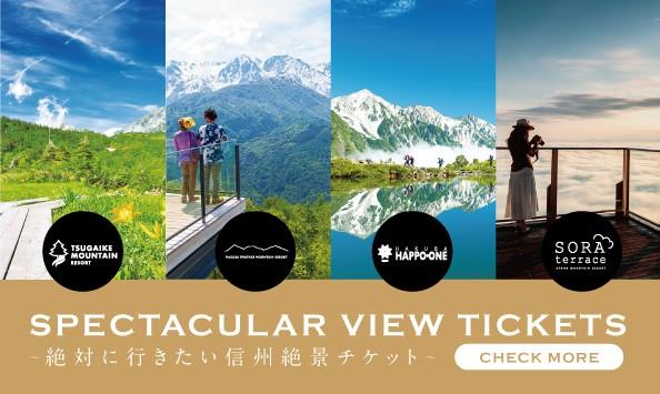 「絶対に行きたい信州絶景チケット」ビジュアルイメージ