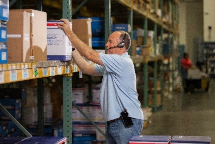配送センタや倉庫での業務