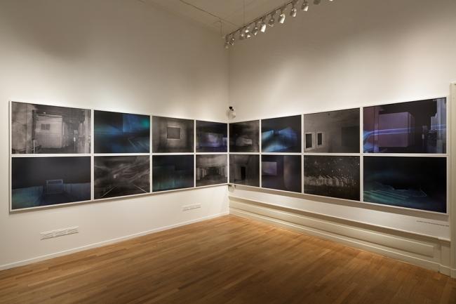 《Site/Cloud》 展示風景(Foam美術館), 2014  撮影:大谷臣史