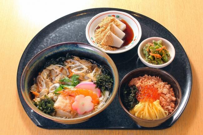 新春にゅう麺~あさり仕立て~