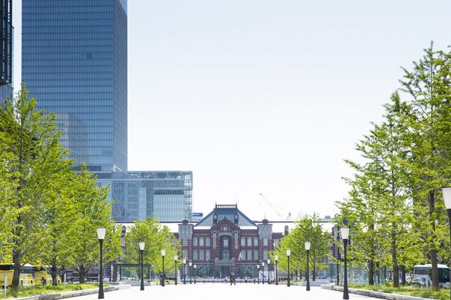 東京ステーションホテルの昼外観