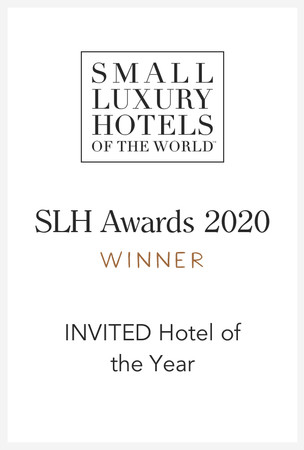 受賞ロゴ「INVITED Hotel of the Year」