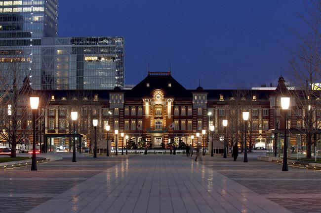 国の重要文化財・東京駅丸の内駅舎の中にある東京ステーションホテル
