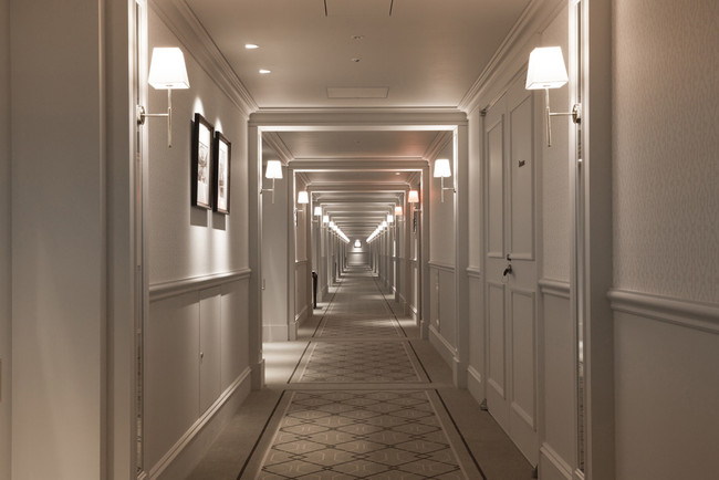 ホテル内の客室エリア イメージ