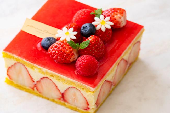 いちごのホールケーキ「フレジェ」4号サイズ