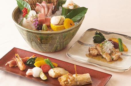 日本料理「花むさし 旬香」レディースランチ