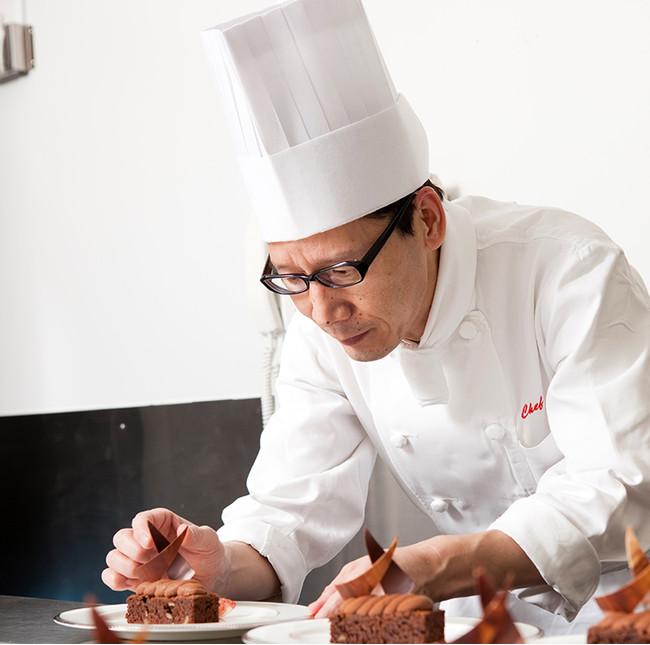 製菓・製パン料理長(ペストリーシェフ) 迫 広志
