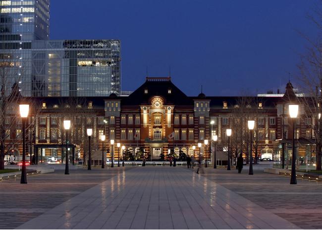 東京ステーションホテルが位置する東京駅丸の内駅舎