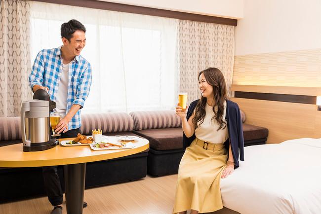 ホテルメトロポリタン エドモント「ビールサーバー付き宿泊プラン」イメージ