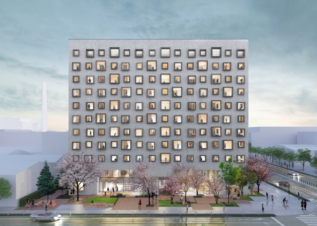 JR東日本ホテルメッツ  東京ベイ新木場 外観イメージ