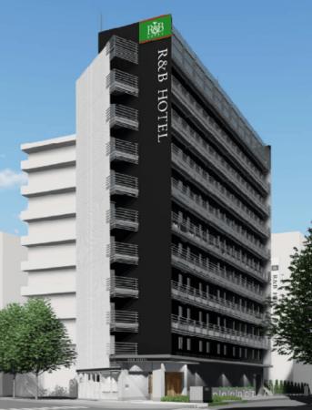 イメージR&B酒店仙台站东出口竣工图像