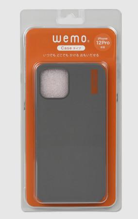 wemoケースタイプiPhone12/12Pro用(DG)