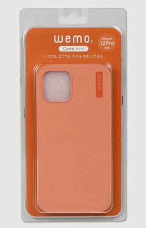 wemoケースタイプiPhone12/12Pro用(CR)