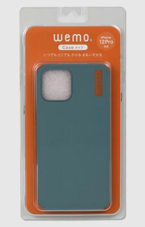 wemoケースタイプiPhone12/12Pro用(BG)