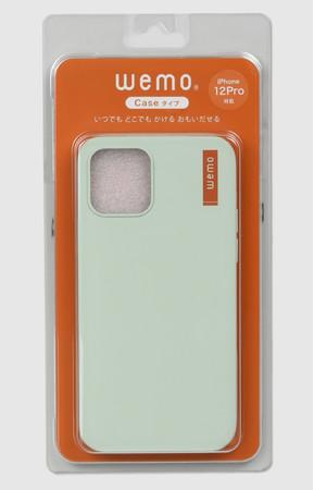 wemoケースタイプiPhone12/12Pro用(PG)