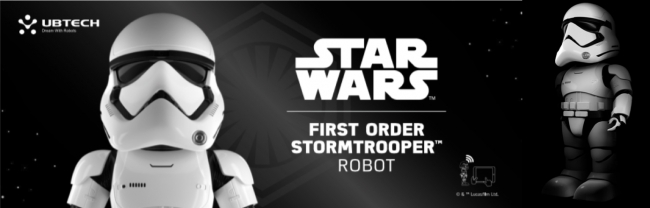 First Order Stormtrooper ロボット UBTECH