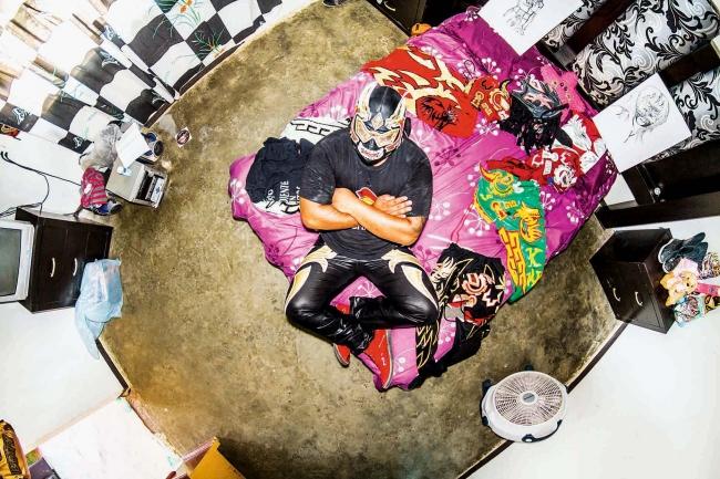 伝統的プロレスラーの部屋(メキシコ)King Warrior Ⅱ