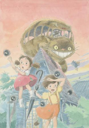 「ジブリの大博覧会~ジブリパーク、開園まであと1年。~」メインビジュアル (C) 1988 Studio Ghibli