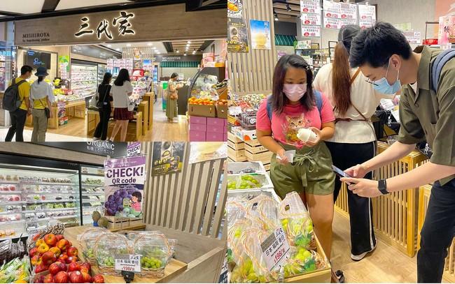 香港店舗(三代家)での販売の様子