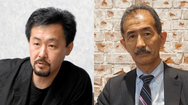 (左)山下裕二さん(右)冨田章さん