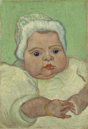 フィンセント・ファン・ゴッホ《マルセル・ルーランの肖像》1888 年、油彩・カンヴァス、アムステルダム、ファン・ゴッホ美術館Van Gogh Museum, Amsterdam (Vincent van Gogh Foundation)
