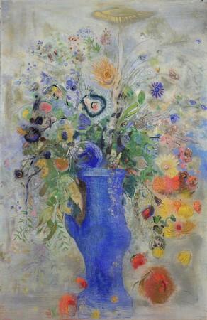 オディロン・ルドン《グラン・ブーケ(大きな花束)》1901年